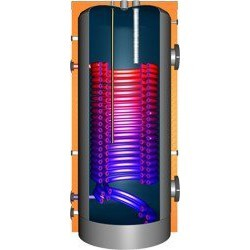 JDW800 Hochleistungswärmepumpenspeicher mit Doppelwendel-Wärmetauscher