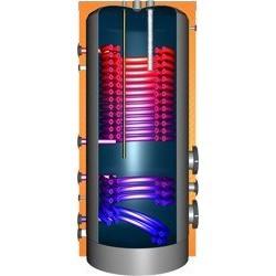 JDWS1000 Hochleistungswärmepumpenspeicher mit 2Doppelwendel-Wärmetauscher